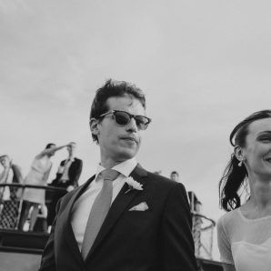 Claire & Guillaume  |  Junk Boat Wedding Hong Kong