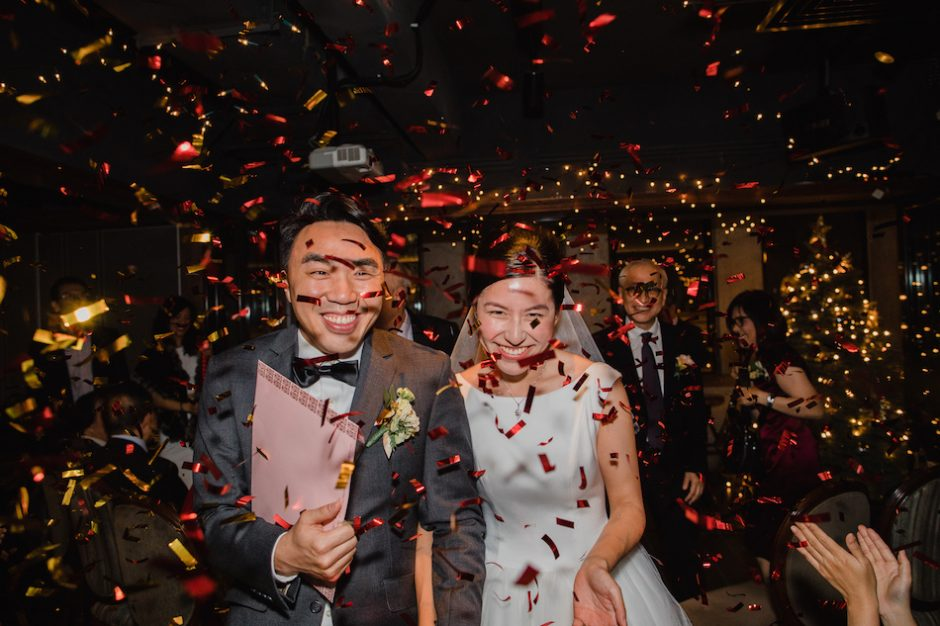 Evelyn & Paul  |  Hong Kong Restaurant Wedding
