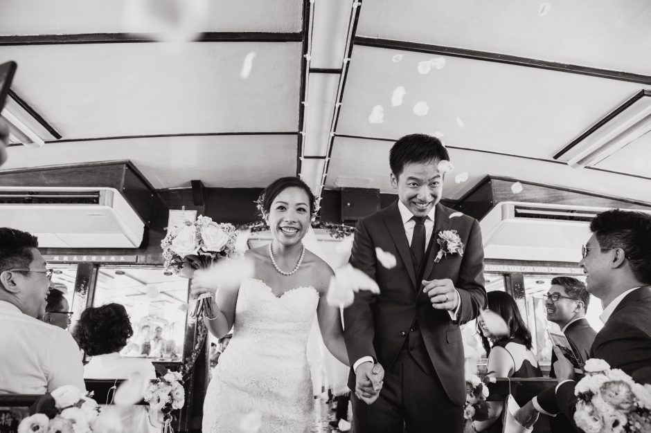 Renee & Keane | Star Ferry Wedding
