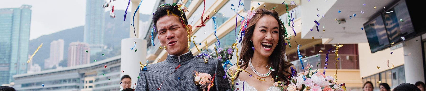 Kit & Jon | Hong Kong Jockey Club Wedding